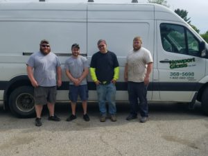 The team of glass experts at Newport Glass