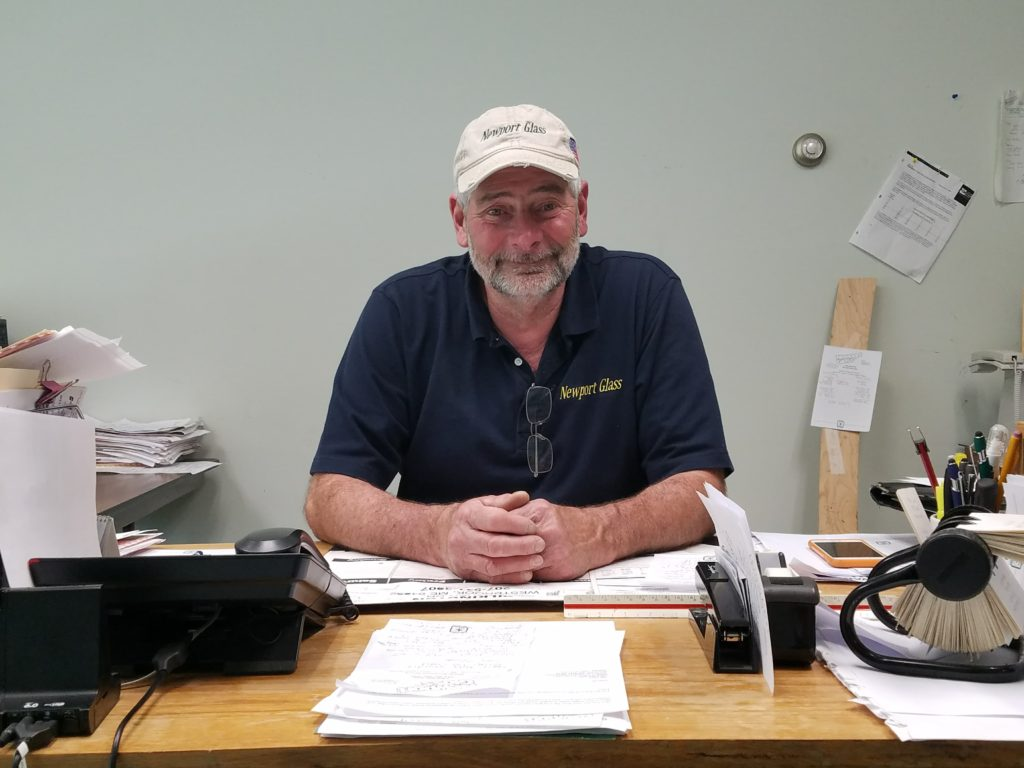 Rick Jacques, Owner of Newport Glass